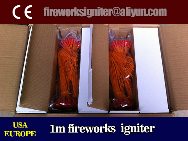 fireworks igniter wholesale, 0.3m electric match for fireworks display, liuyang fireworks electric igniter, 5000pcs/carton