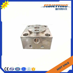 Best price Flow waterjet cutting parts 60k hydraulic end bell for waterjet  marble cutter