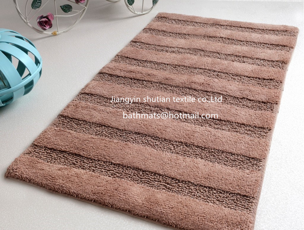 Hand Tufted High And Low Cut Pile Microfiber Chenille Carpet Rugs