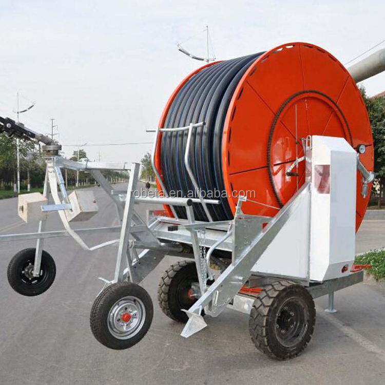 Hose reel irrigation Lawn Traveling Water Reel Irrigation System