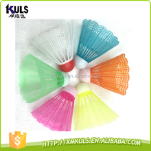 Colorful plastic children's toys badminton shuttlecock