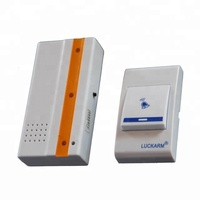D691 Electronic Wireless Doorbell 32 ringtones Anti-interference