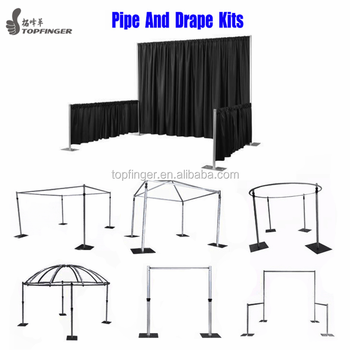Wholesale Used Circle Chuppah Stand Ceiling Draping Pole Design Kits Pipe And Drape Wedding Backdrop For Sale