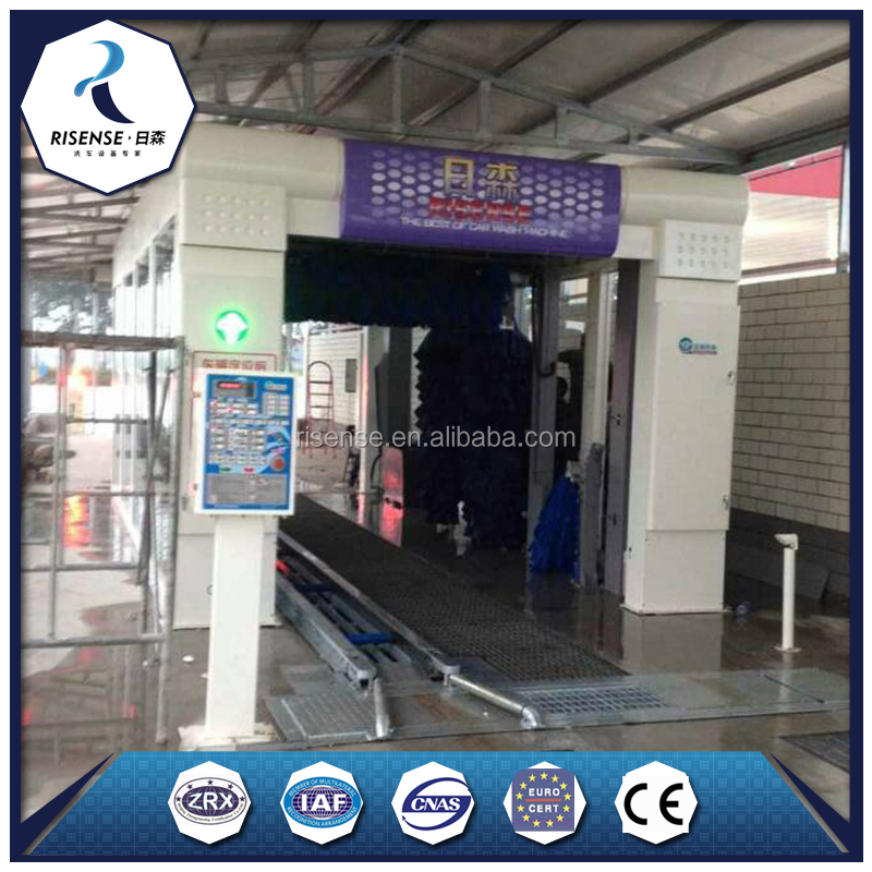 Including Blower and Dryer Automatic Tunnel Car Washing Car Wash Machine