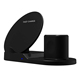 Compatible 3 in 1 Fast Wireless Charger Stand Replacement QI Wireless Charging Station Dock Holder for iPhone Air Pods