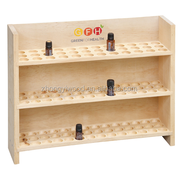 Wooden Essential Oil Bottle Storage Box Wooden Storage Box / Case / Chest