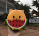 Jumbo Squishies Indonesia Chawa Supplier Watermelon Cheap Squishy Keychain Slow Rising Stress Relief Soft Toys Balls Factory