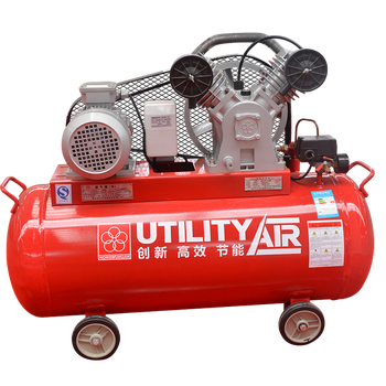HONGWUHUAN LV2008AS mini industrial 2hp portable piston air compressor with tank
