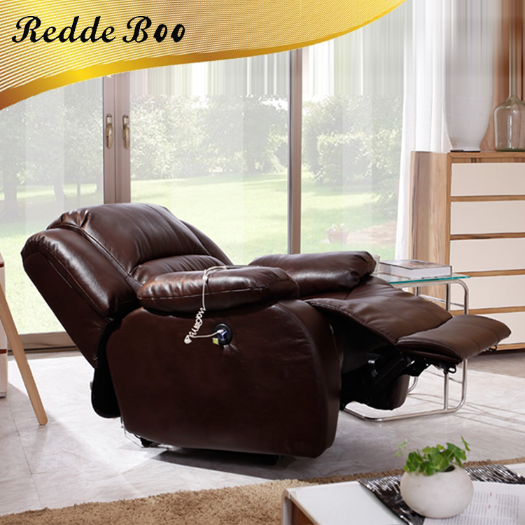 Living Room Furniture Floor Swivel Recliner Chair 360 Degree Rotation Living Room Furniture Modern Japanese Design Leather Armchair Chaise Lounge To Adopt Advanced Technology