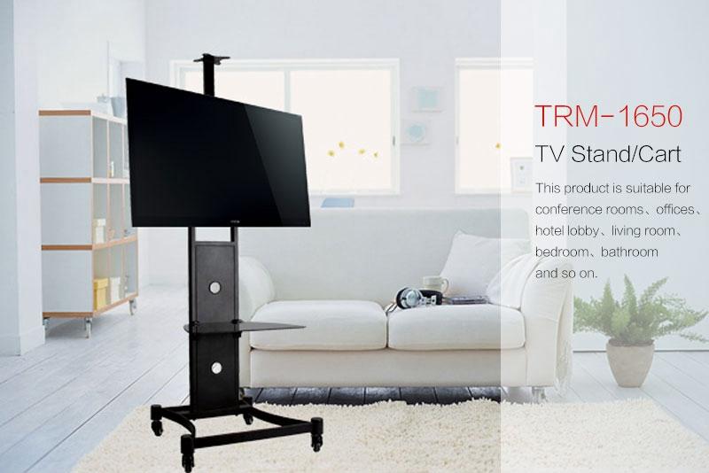 Mobile Tv Display Stehen,Tv Regal Trolley Mit 4 Rädern - Buy Tv ...