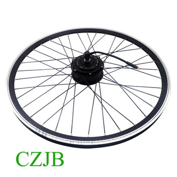 48v 350w 700c Europe Front Electric Bicycle Engine Wheel Conversion Motor Kit