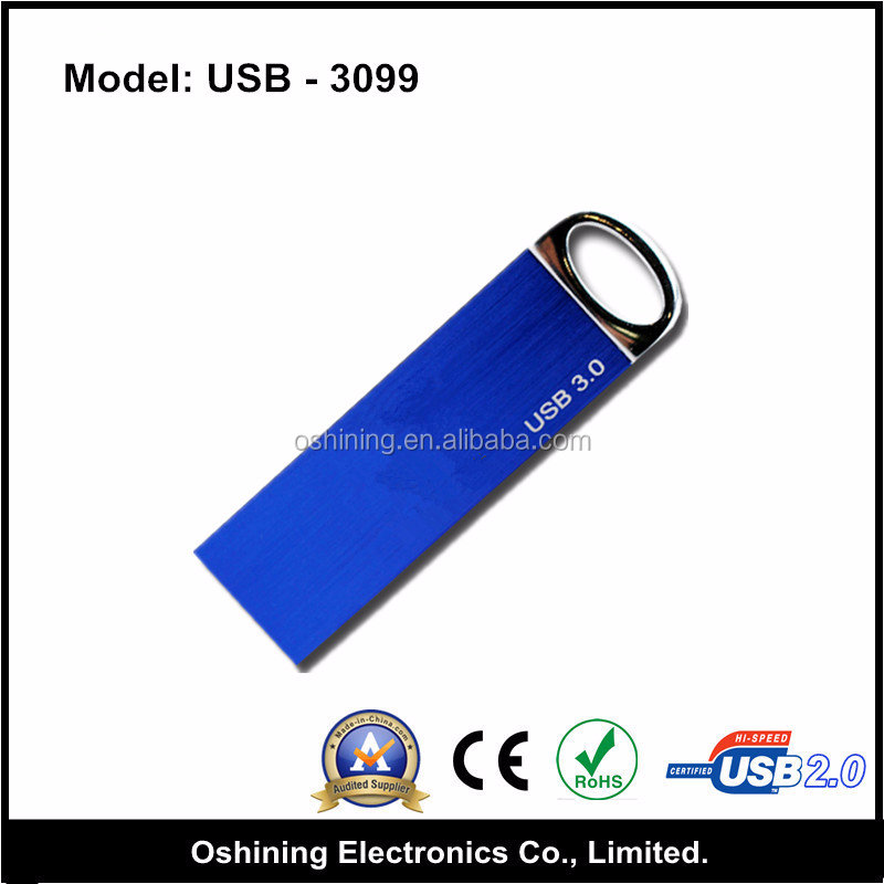 Cuustomized logo 128gb 3.0 metal usb flsh drives (USB-3099)