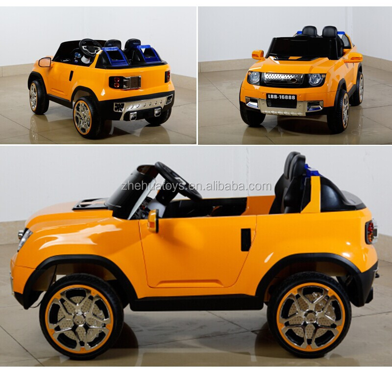 2015 newest 2 seater kids electric carkids plastic outdoor car