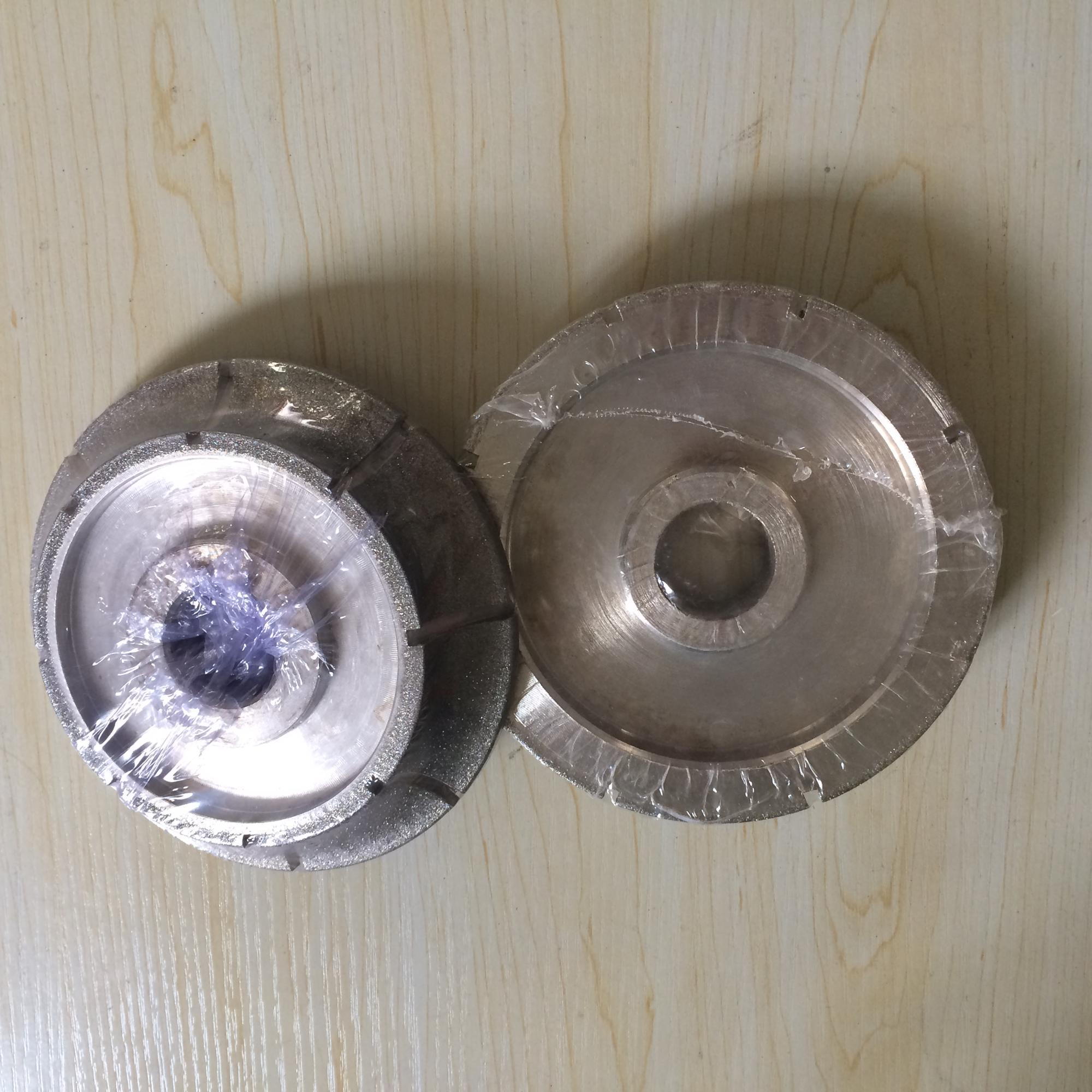 marble electroplate profile grinding wheel