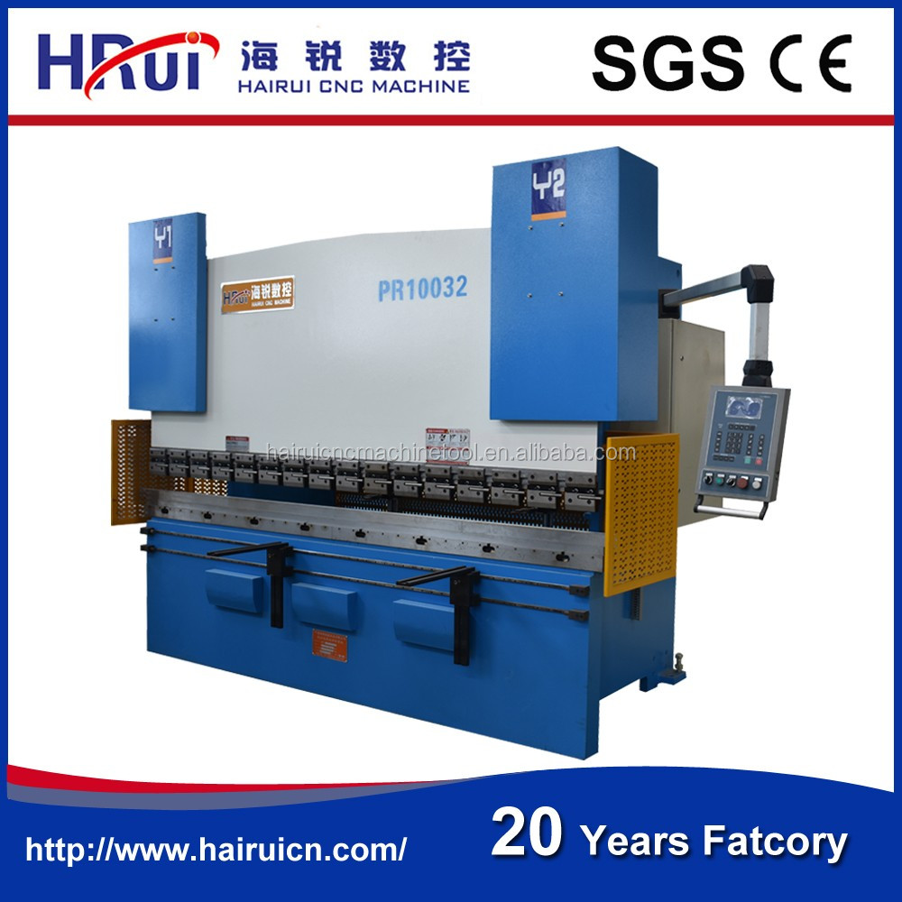 E21 Control system WC67Y 80T 4000MM plate bending machine price list