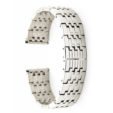 Нержавеющая сталь Смотреть Band 22 мм для Rolex ремешок на запястье петли ремня браслет черный, серебристый цвет + Весна Бар инструмент(Китай)