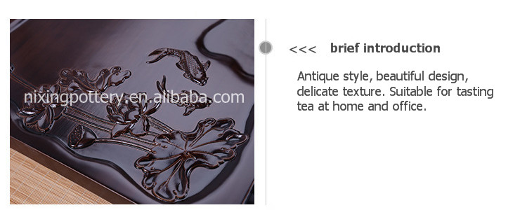 Traditional Chinese Tea Tray Wholesale Wood Trays Tea Trays for Office