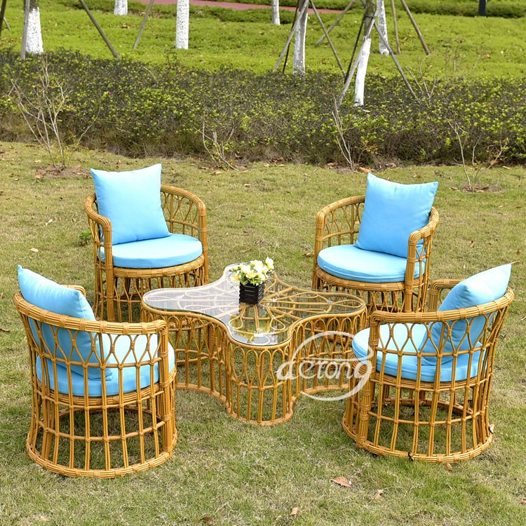 Pe Bamboo Patio Outdoor Furniture