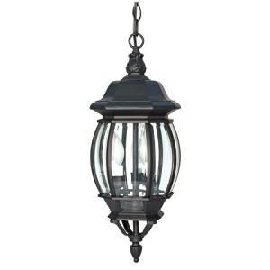 (USA Warehouse) Nuvo Lighting 60/896 Textured Black Three Light Up Lighting Outdoor Pendant -/PT# HF983-1754425946