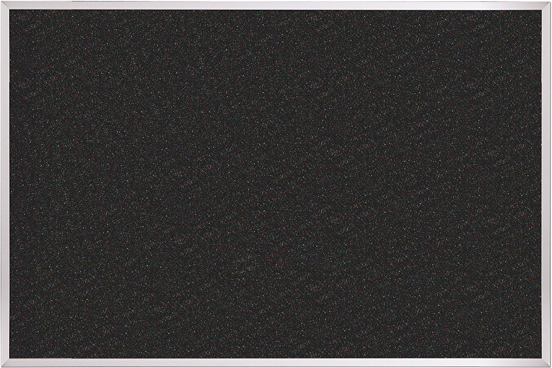 Best-Rite ReTire Rubber-Tak Tackboard, Aluminum Trim, 3 x 4 Feet (320AC-105)