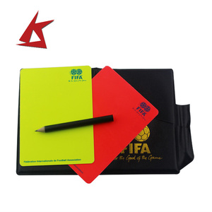 KS-High Performance custom Red yellow card with factory price