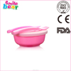 baby plastic bowl feeding cutlery sets with spoon and forks