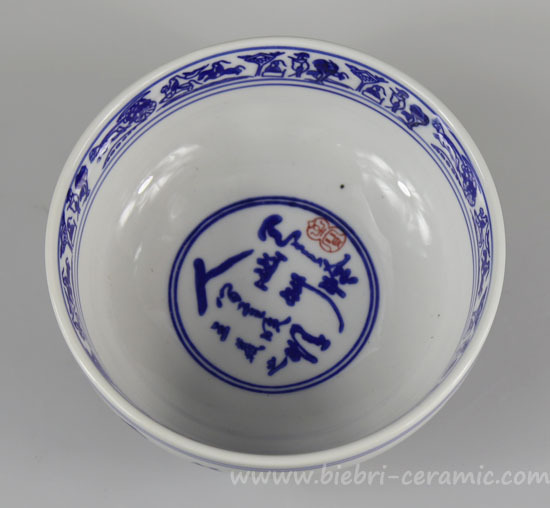 4455556 Inch Chinese Round Shaped Ceramic Porcelain Fine