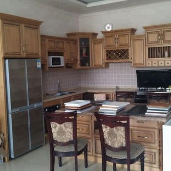 Classic Oak Wood Solid Wood Kitchen Cabinet Buy Solid Wood Kitchen Cabinet Solid Wood Walnut Kitchen Cabinets Beech Wood Kitchen Cabinet Product On