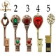 Gift Vintage Style Key Shape 8GB Pendrive Metal USB Sticks 16gb 2gb 4gb