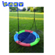 High Quality 24inch Canvas Outdoor Garden Swing/Swing Chair with Swing Accessories