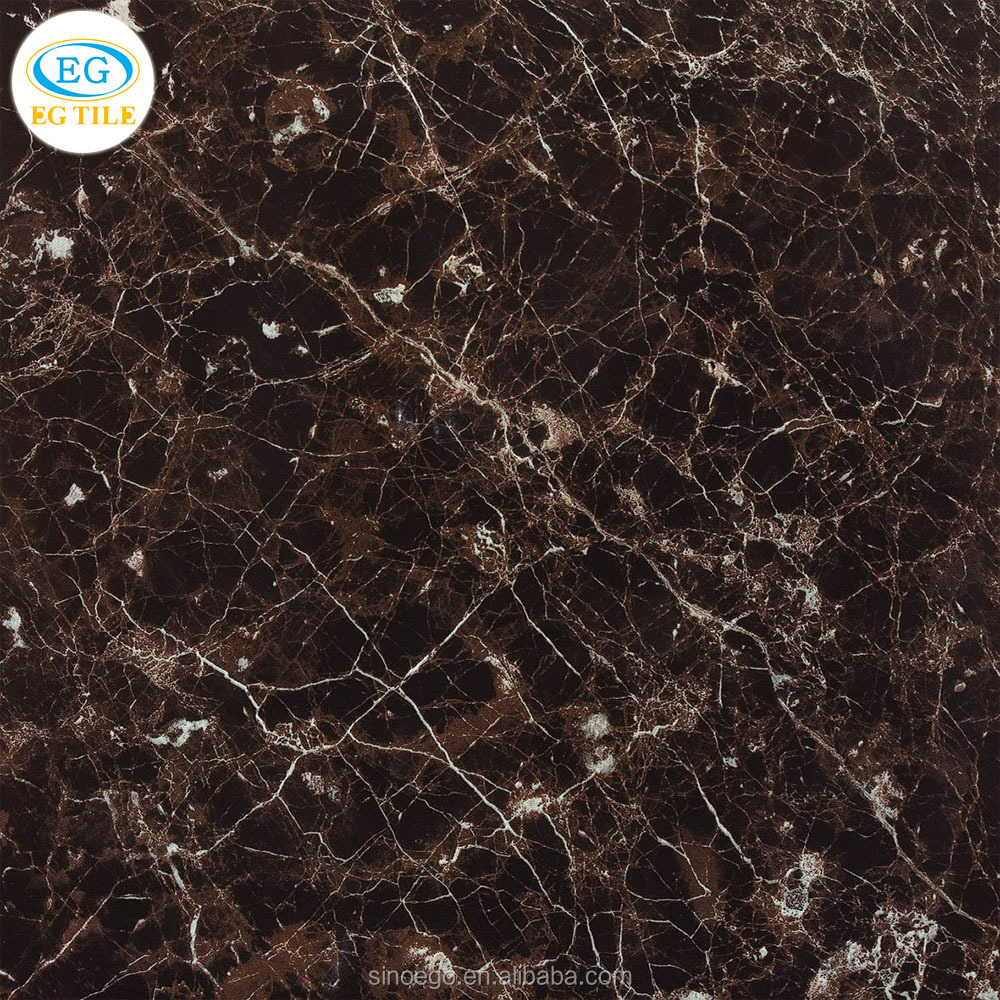 Home building material high quality luxury coffee color Marble Gres Porcellanato floor tile 24x24 32x32 inch