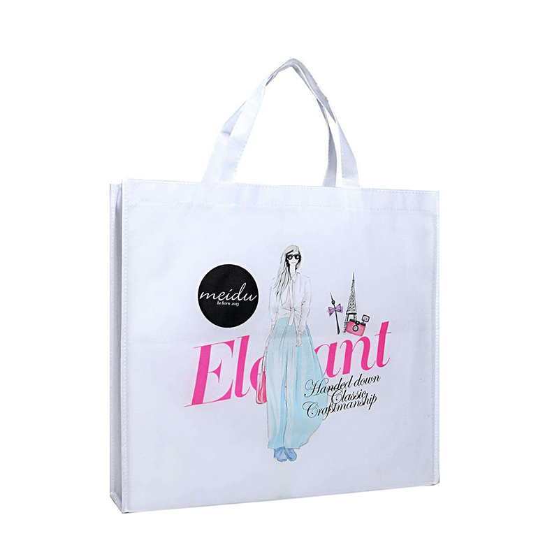 Womens shopping printing fabric tote bag, foldable price non-woven bag Customized