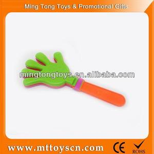 Promotional gift cheering customized toys clapping hands