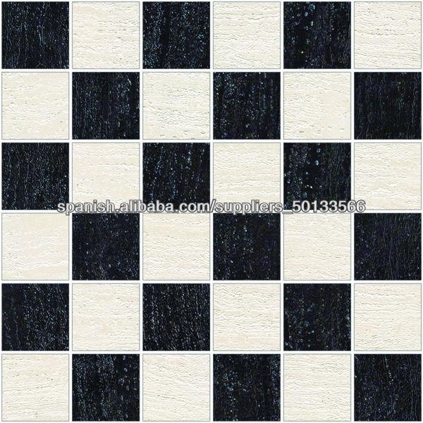 Azulejo de piso blanco y negro alicatados identificaci n for Azulejo de piso de bano blanco y negro