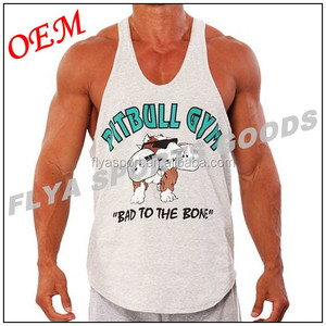 Mens full print sleeveless muscle apparel sports vest