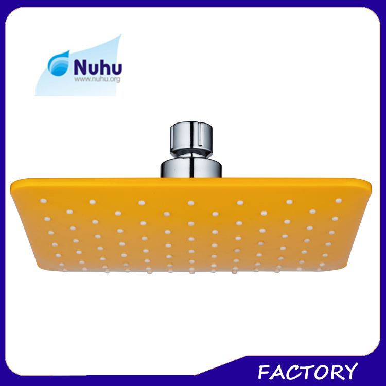 Hotsale Low MOQ Multi-colored ABS Plastic Water Fall Ceiling Rain Shower Head System
