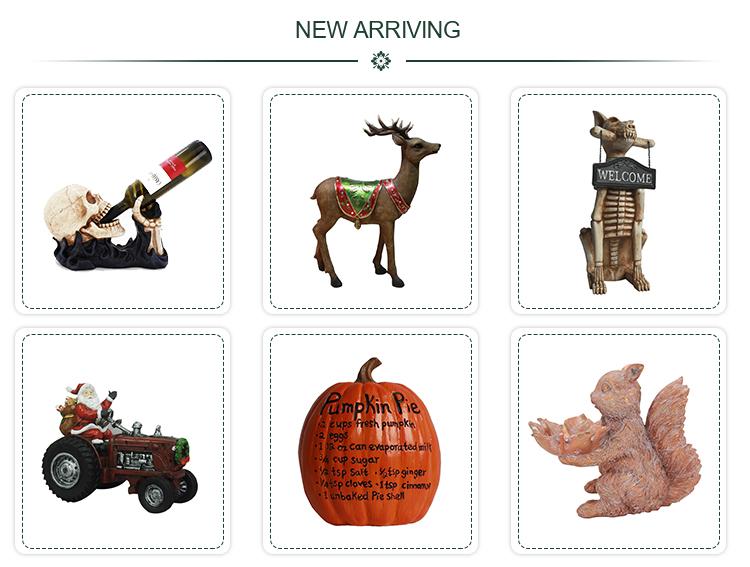 Regalo di festa MGO 15.7 pollici di lunghezza di halloween della novità del cranio di venire fuori terra decorazione