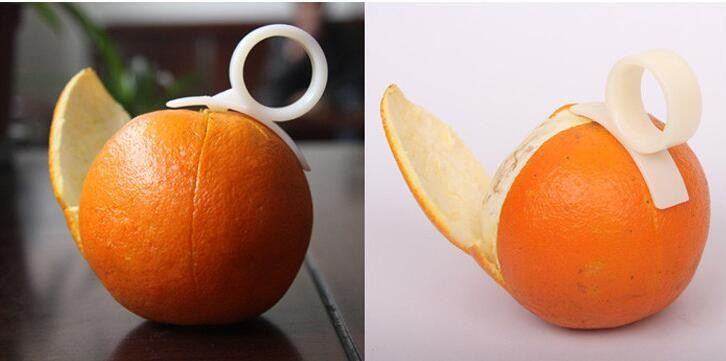 Creative Kitchen Gadgets Cooking Tools Mandarin <strong>Orange</strong> Peeler Parer Finger Type Cleverly Open <strong>Orange</strong> Peel <strong>Orange</strong> Device
