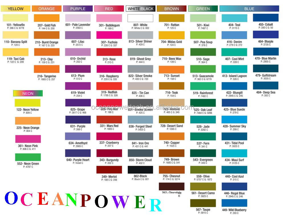 258 Items Color Chart Fandeck Shade Card Color Codes For Wall