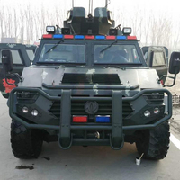 4x4 BULLETPROOF ARMOR CAR FOR MILITARY ARMORED VEHICLES WITH BULLETPROOF TIRES
