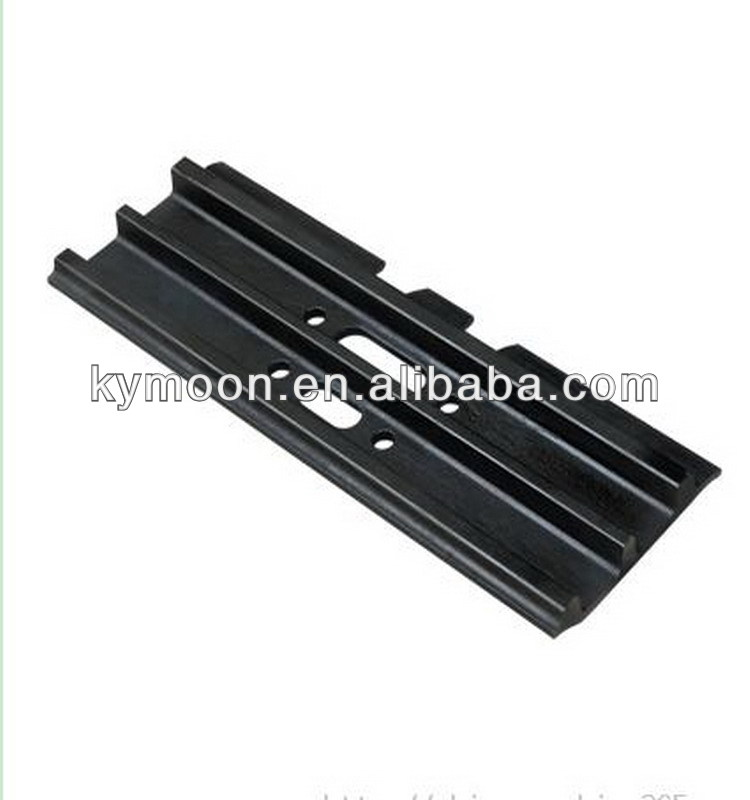 Excavator steel track shoe for Komatsu PC200