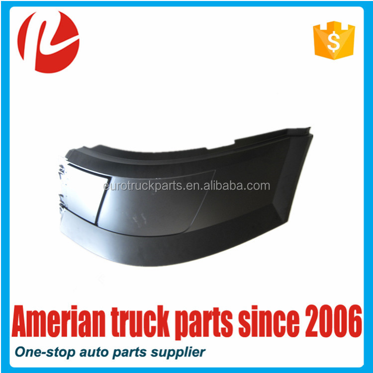 American Truck Auto Body Spare Parts Oem 20506619 20506621 Side Bumper Without Hole for Volvo VNL Lado Parachoques