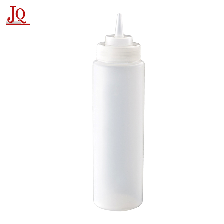 Food Grade Plastic Squeeze Sauce Bottle for Ketchup