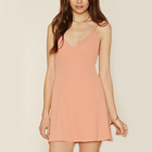 new arrivals women clothing pink cami jersey tunic top loose dressy tunic top