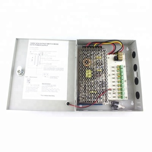 12V 120W 9 Channels output cctv security camera power supply from China