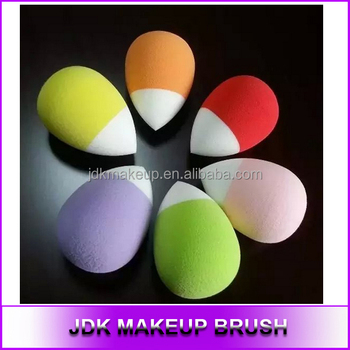 Duo Color Latex Free Makeup Foundation Blender Cosmetic Puff ...