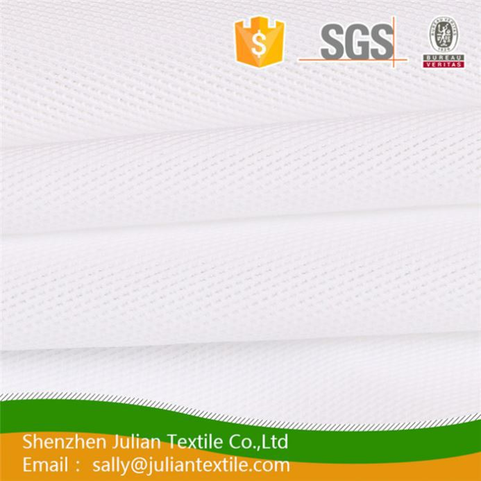 good quality T/C stripe nylon lycra rib knitted ribbing mercerized shirting fabric