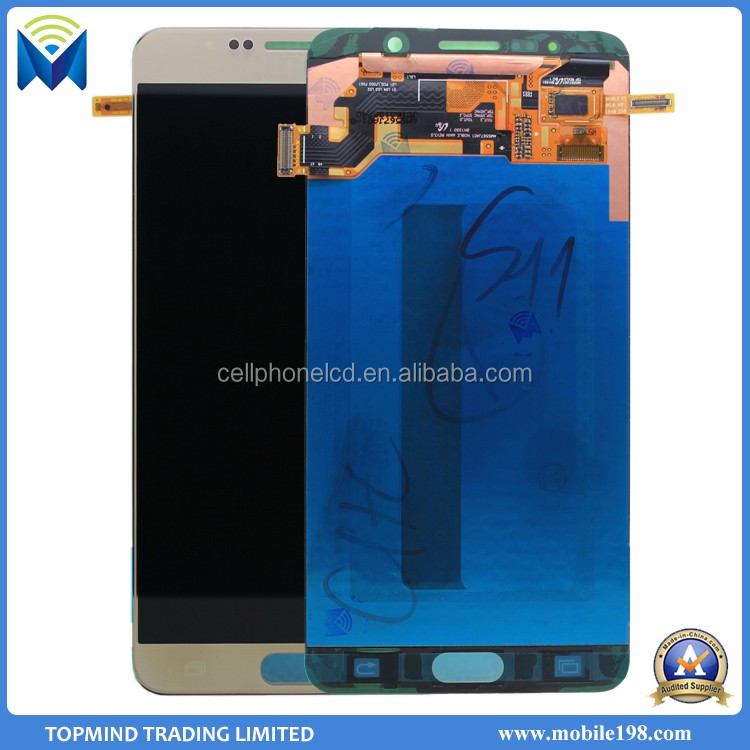 Gold Color Note 5 LCD for Samsung Galaxy Note 5 N920F LCD Digitizer Assembly