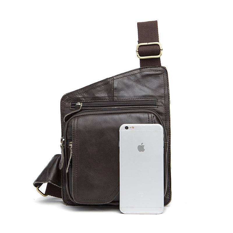 MARRANT Vintage Genuine Leather Men Shoulder Bag Chest Pack Fashion ... e944f0623dad6