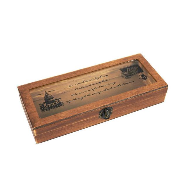 wood pencil box wood pencil box wholesale diy wood pencil box .